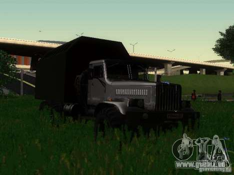KrAZ-254 für GTA San Andreas Rückansicht