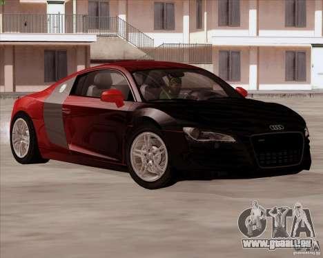 Audi R8 Production für GTA San Andreas Rückansicht
