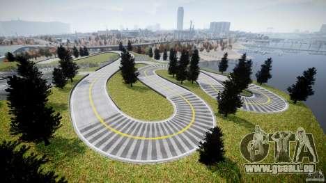 Edem Hill Drift Track für GTA 4 fünften Screenshot