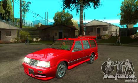 Volvo 945 Wentworth R with bodykit (1.2) für GTA San Andreas