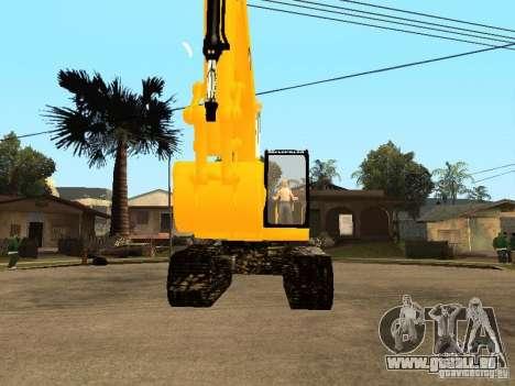 Pelle CAT pour GTA San Andreas vue de droite