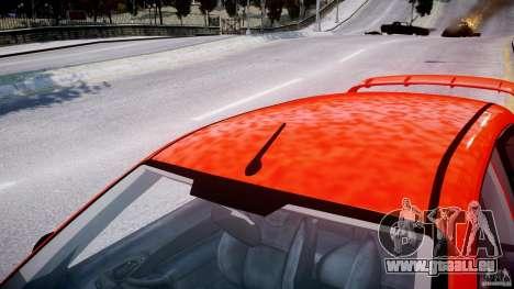 Ford Focus SVT WRC Street pour GTA 4 Salon