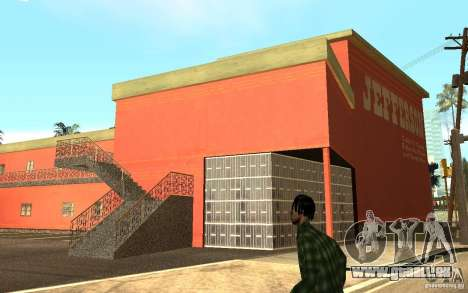UGP Moscow New Jefferson Motel für GTA San Andreas her Screenshot