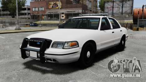 Ford Crown Victoria Unmarked ELS pour GTA 4