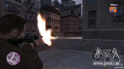 VC Style Radar/HUD (2 Skins) für GTA 4 dritte Screenshot