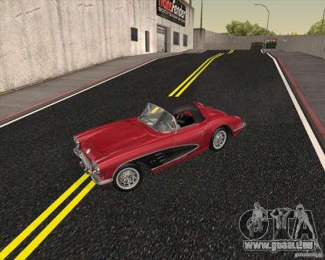 Chevrolet Corvette 1959 für GTA San Andreas Rückansicht