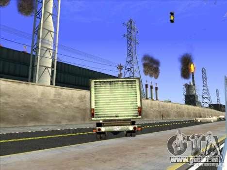 Yankee auf der Grundlage von GMC für GTA San Andreas Innenansicht