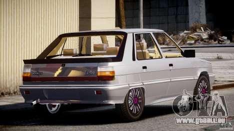 Renault Flash Turbo 11 pour GTA 4 Vue arrière de la gauche
