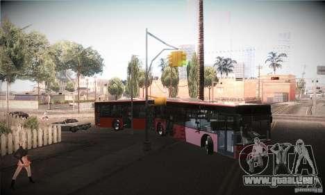 Design X3 GL pour GTA San Andreas vue intérieure