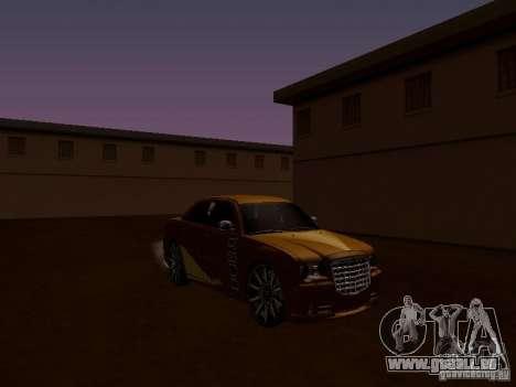 Chrysler 300C SRT8 2007 pour GTA San Andreas vue intérieure