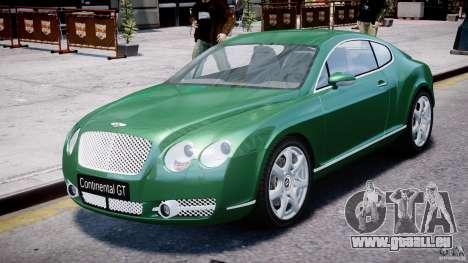 Bentley Continental GT für GTA 4
