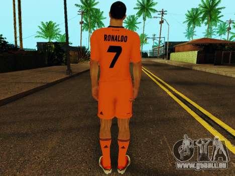 Cristiano Ronaldo v3 pour GTA San Andreas quatrième écran