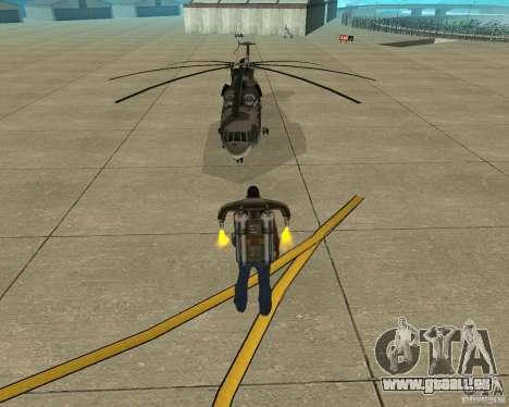 MI-26 pour GTA San Andreas vue arrière