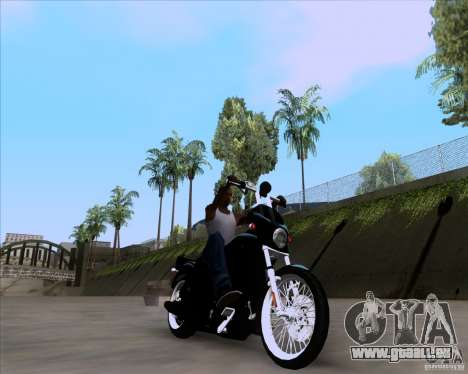 Harley Davidson FXD Super Glide pour GTA San Andreas
