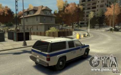 Chevrolet Suburban 2003 NOOSE pour GTA 4 est un droit
