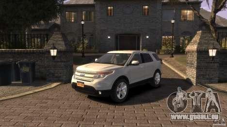 Ford Explorer 2011 für GTA 4