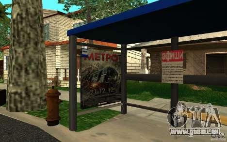 Nouvel arrêt de bus pour GTA San Andreas deuxième écran