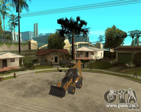 Lastik Tekerli Dozer für GTA San Andreas