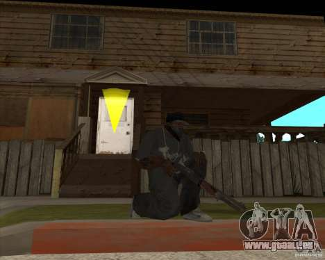 Resident Evil 4 weapon pack für GTA San Andreas zweiten Screenshot