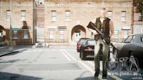 Merle Dixon pour GTA 4 secondes d'écran
