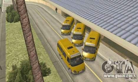 GAZ 2705 Minibus für GTA San Andreas rechten Ansicht