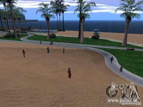 Nouvelle plage texture v1.0 pour GTA San Andreas deuxième écran