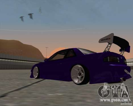 Nissan Silvia S13 Nismo tuned pour GTA San Andreas vue de droite