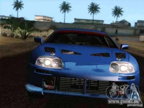 Toyota Supra TRD3000GT v2 für GTA San Andreas Motor
