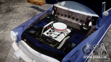 Buick Skylark Convertible 1953 v1.0 pour GTA 4 est une vue de l'intérieur