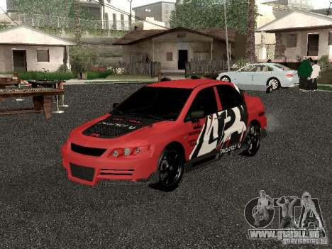Mitsubishi Lancer Evo 8 für GTA San Andreas