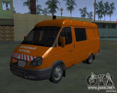 Gazelle 2705 Highway patrol für GTA San Andreas