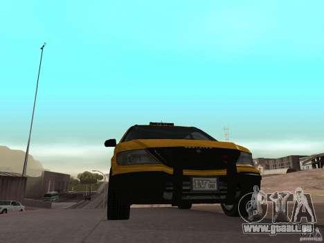 Taxifahrer von GTA 4 für GTA San Andreas zurück linke Ansicht