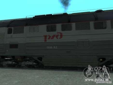 2te116 RZD pour GTA San Andreas laissé vue