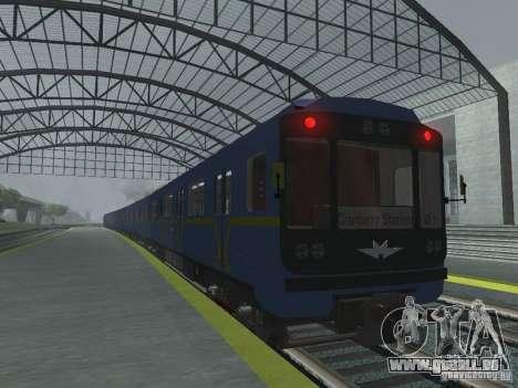 Tube type 81-717 pour GTA San Andreas laissé vue