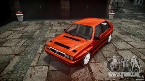 Lancia Delta HF 4WD pour GTA 4 Vue arrière