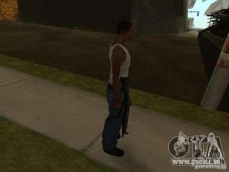 MP5A2 für GTA San Andreas zweiten Screenshot