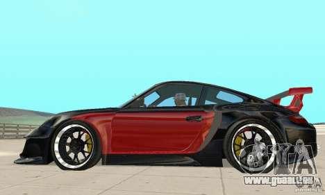 Porsche 911 GT2 NFS Undercover für GTA San Andreas zurück linke Ansicht