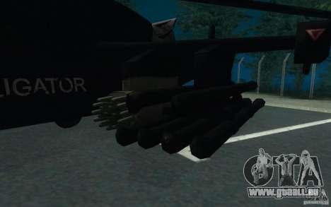 KA-52 ALLIGATOR v1.0 pour GTA San Andreas vue de droite