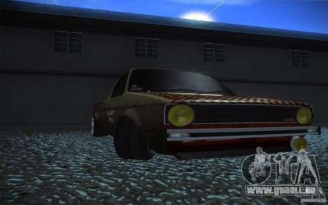 US Army Volkswagen Caddy für GTA San Andreas rechten Ansicht