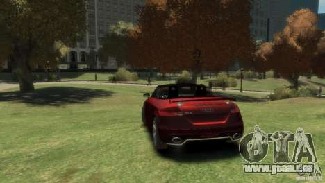 Audi TT RS Roadster für GTA 4 linke Ansicht
