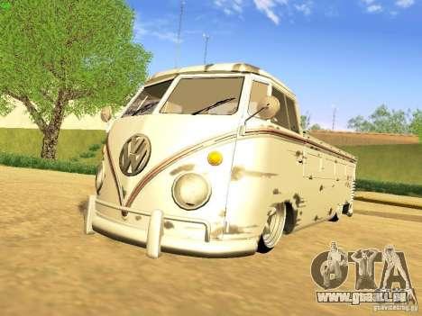 Volkswagen Type 2 Single Cab Rat pour GTA San Andreas