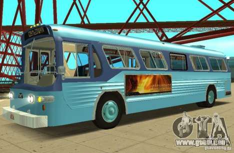 GMC Fishbowl City Bus 1976 pour GTA San Andreas