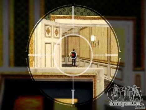 Luxville-carte de Point Blank pour GTA San Andreas quatrième écran