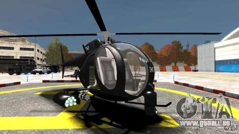 AH-6 LittleBird Helicopter pour GTA 4