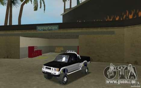 Toyota Hilux Surf für GTA Vice City