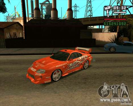 Toyota Supra MK4 tunable pour GTA San Andreas