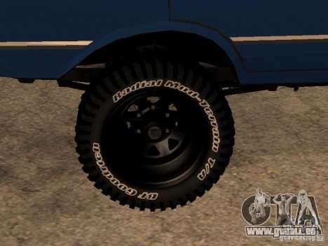 Moskvich 412-4 x 4 für GTA San Andreas linke Ansicht