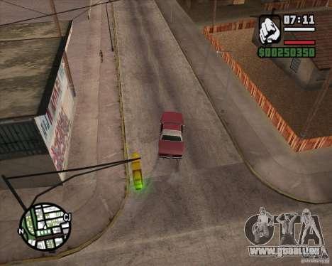 Caméra comme dans GTA Chinatown Wars pour GTA San Andreas cinquième écran