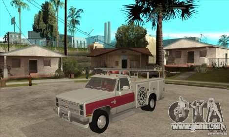 Chevrolet Silverado - utility pour GTA San Andreas