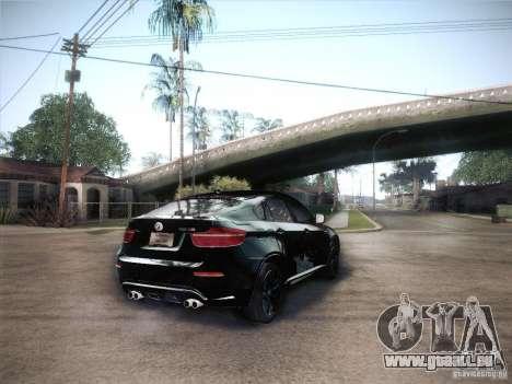 BMW X6M für GTA San Andreas linke Ansicht